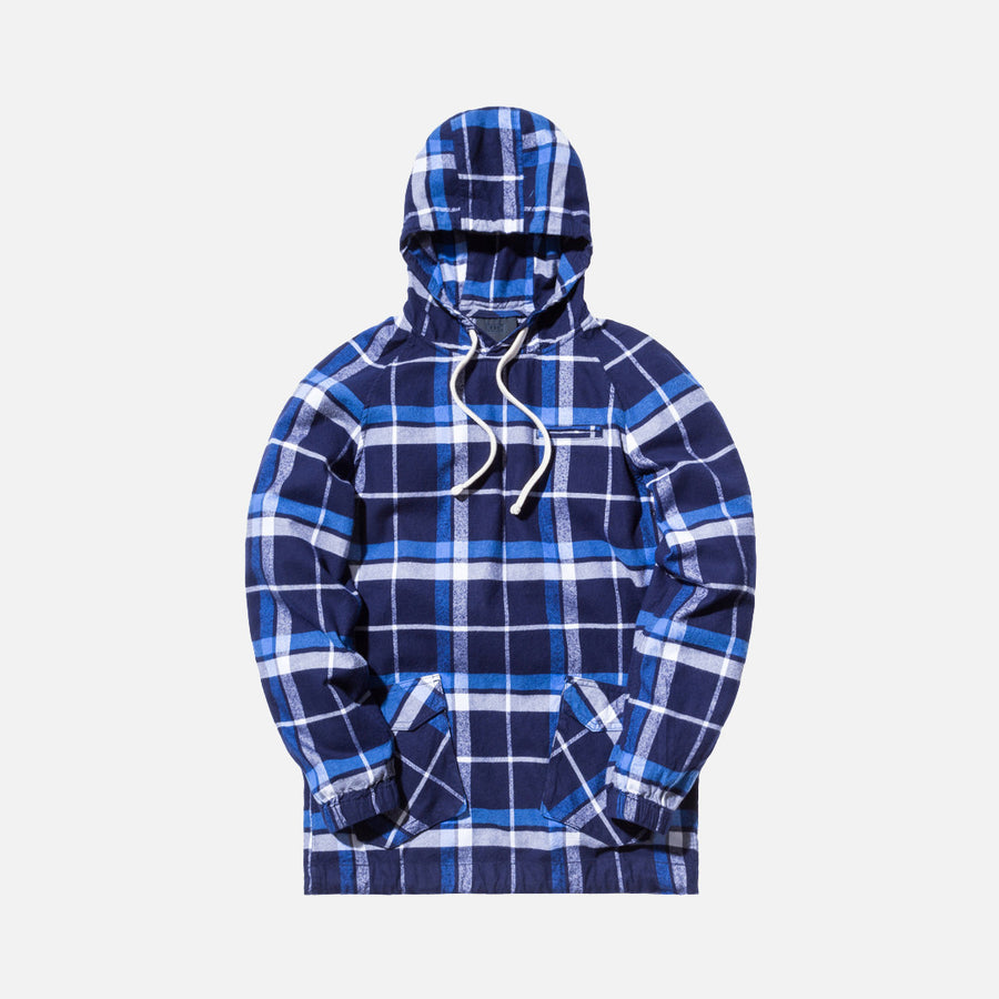 Kith Clinton Pullover - Blue Plaid