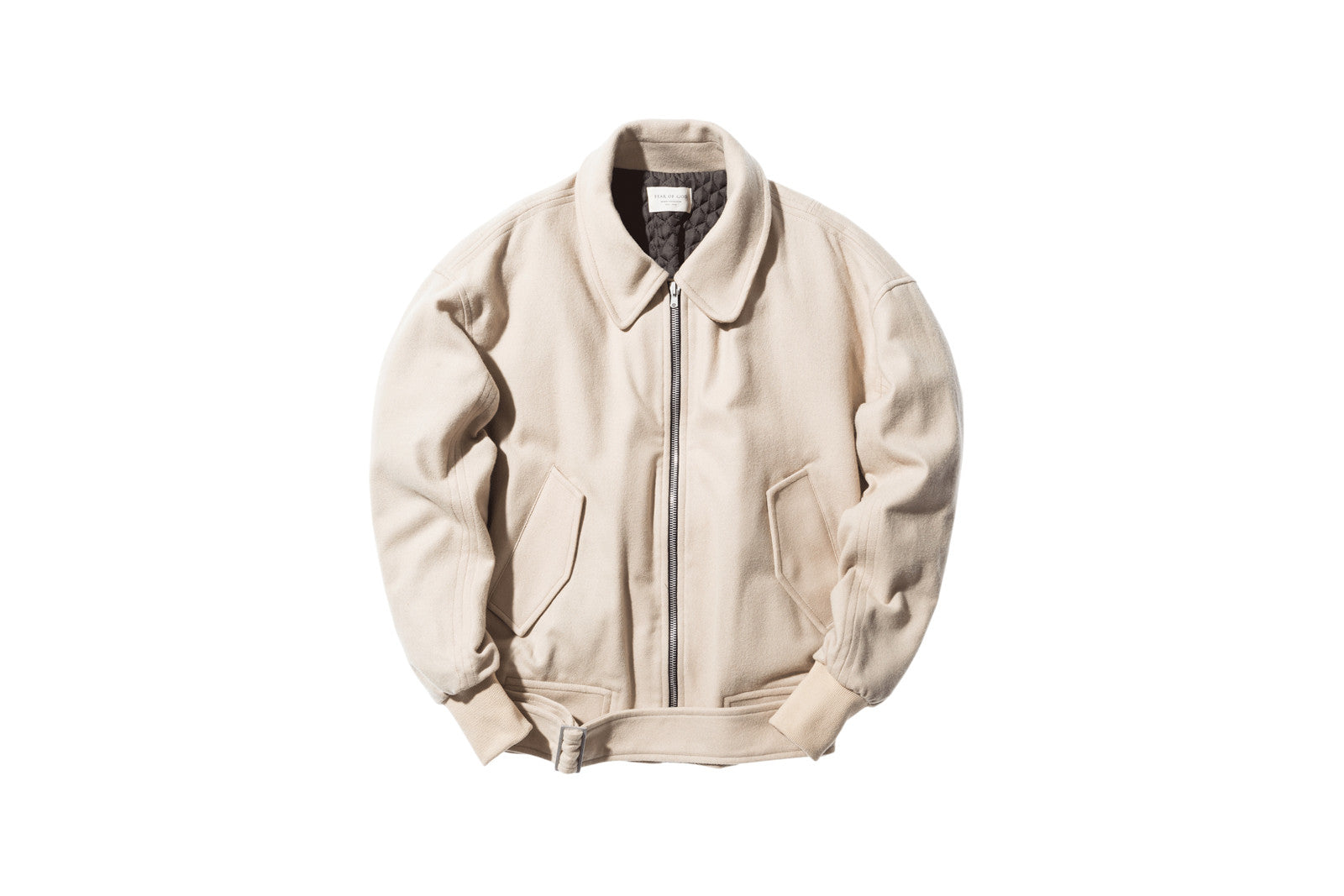Fear of God Wool Collar Bomber - Khaki