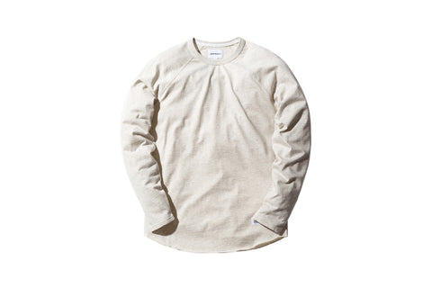 Norse Projects Aske Perforated L/S Tee - Ecru