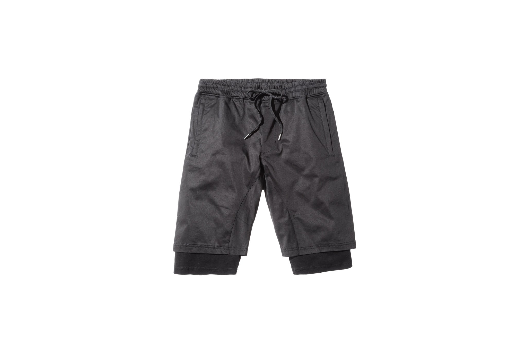 Stampd Double Layer Short - Black