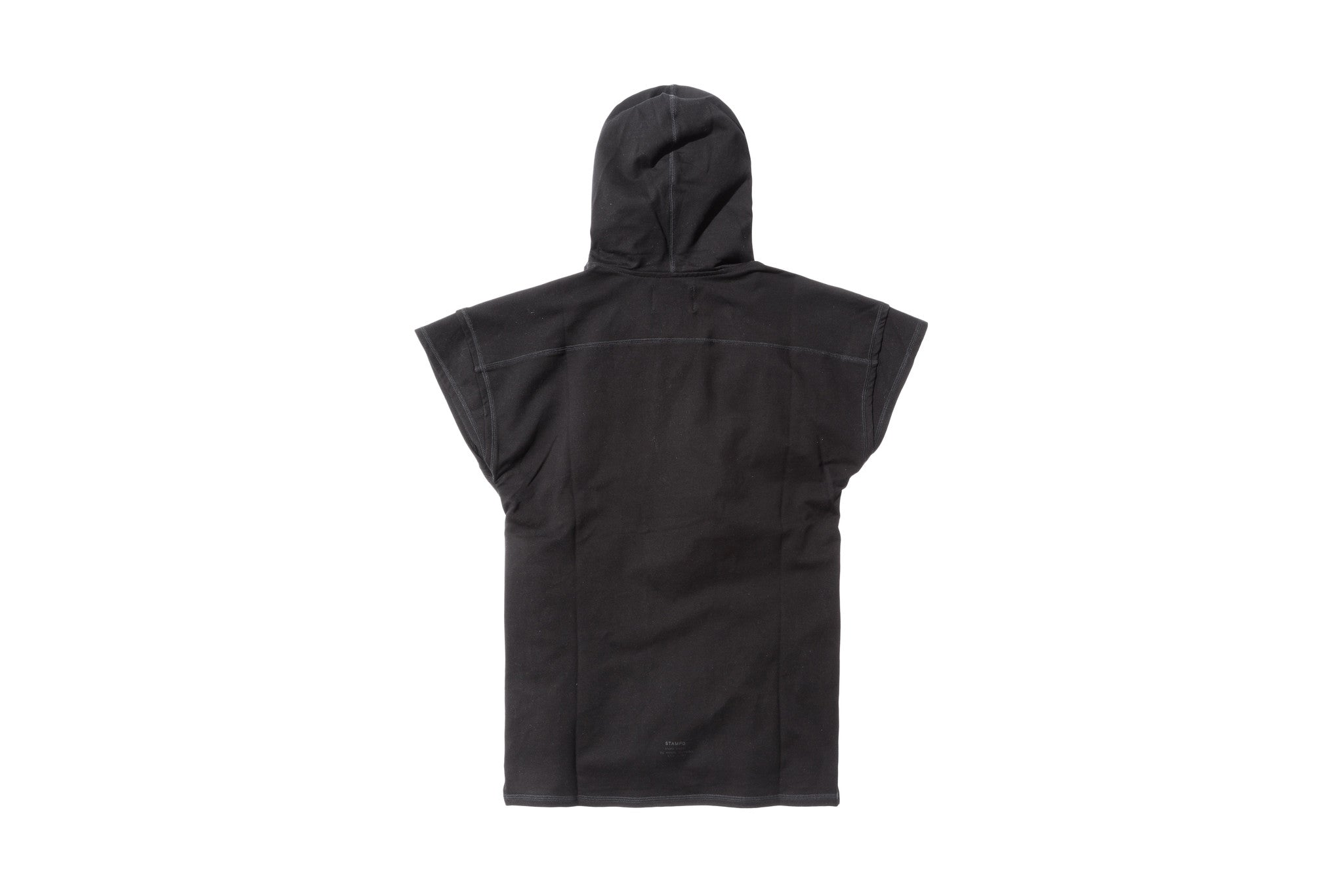 Stampd Layered Muscle Hoody - Black