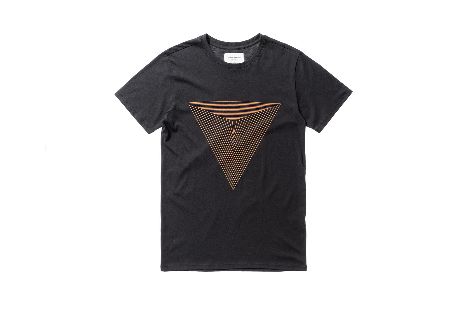 Public School Artin Triangle Tee - Black