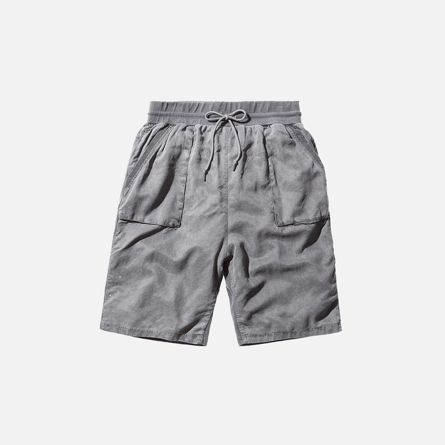 John Elliott Safari Shorts - Washed Black