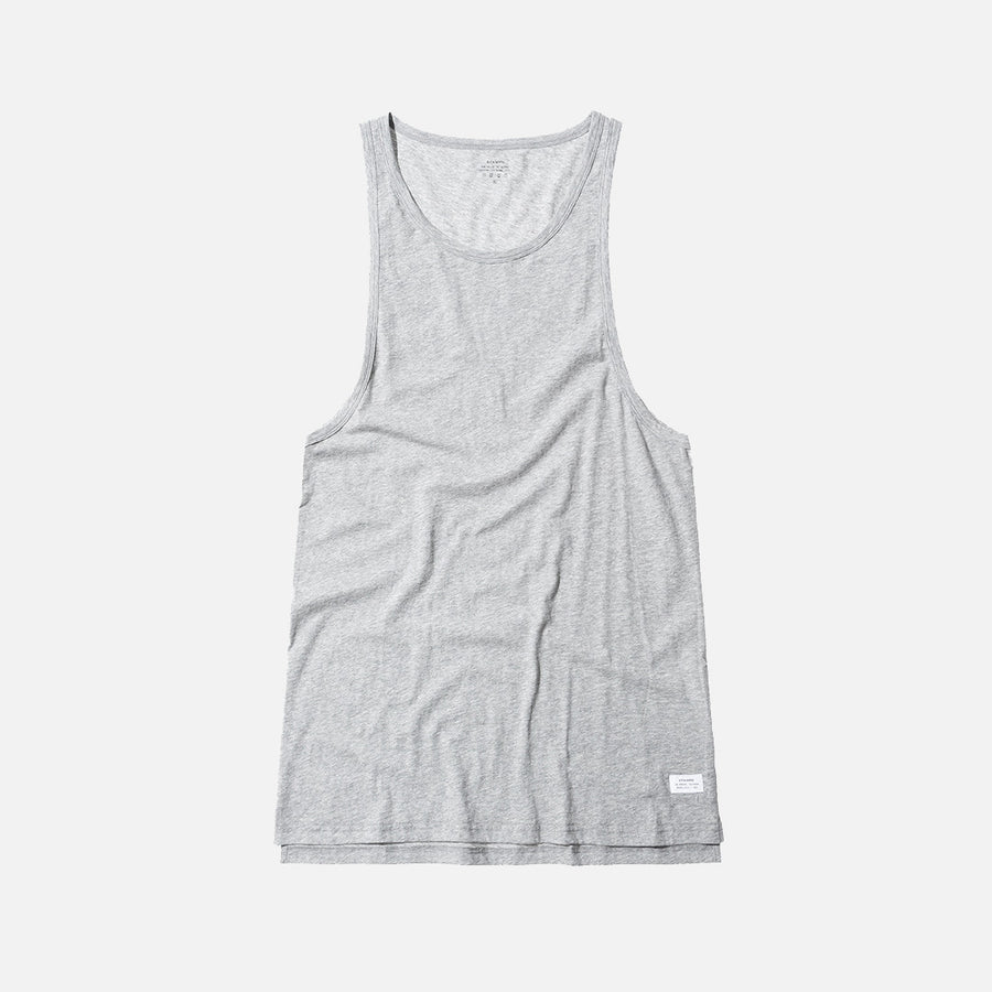 Stampd Elongated Tank - Grey