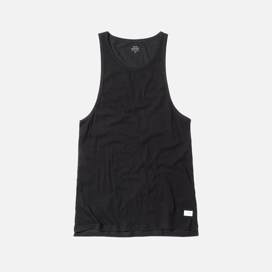 Stampd Elongated Tank - Black