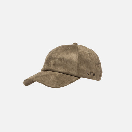 Kith Suede Cap - Olive