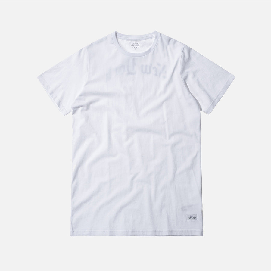 Stampd OE NY Tee - White