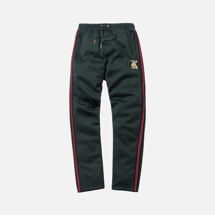 Kith Track Pant - Forest Green