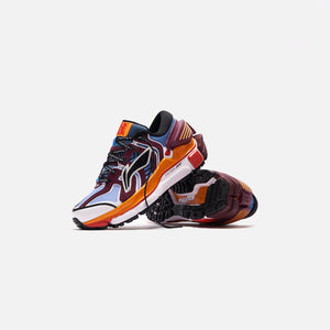 Li-Ning Sun Chaser - Blue / Maroon / Orange Image 2