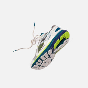 Li-Ning Furious Rider Ace 3 - White / Teal / Lime Green Image 2