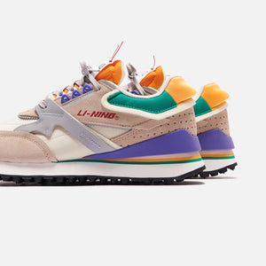 Li-Ning 001 Reconstructed - Beige / Grey / Purple Image 5