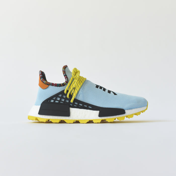 adidas Originals x Pharrell Williams Solar HU NMD - Clear Sky / Bright Yellow / Black