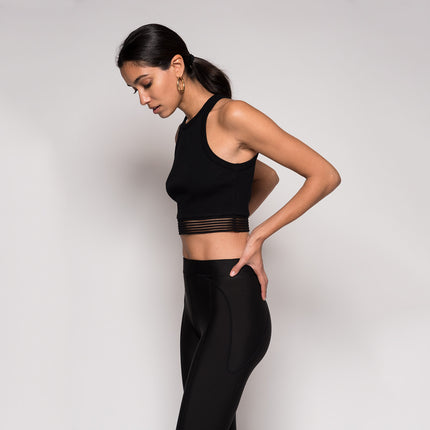 Kith Massi Crop Top - Black