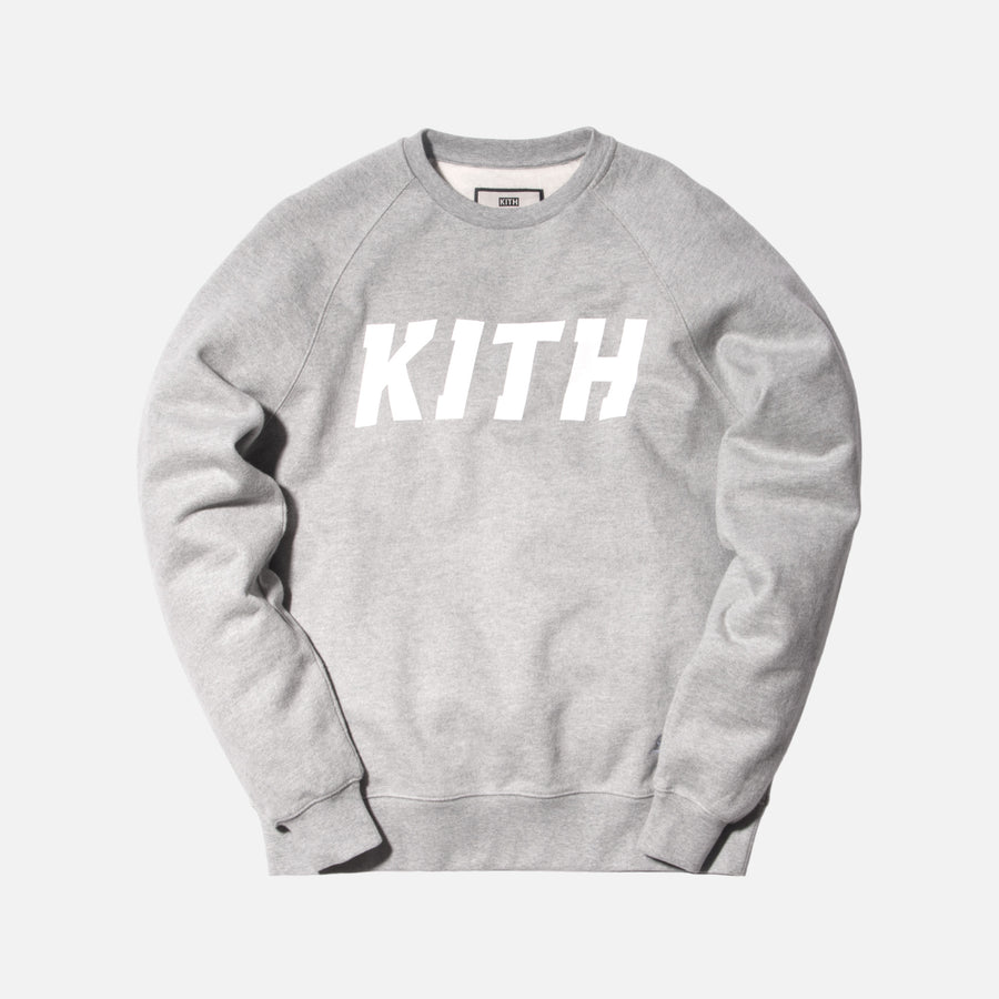 Kith Love Thy City Crewneck - Heather Grey
