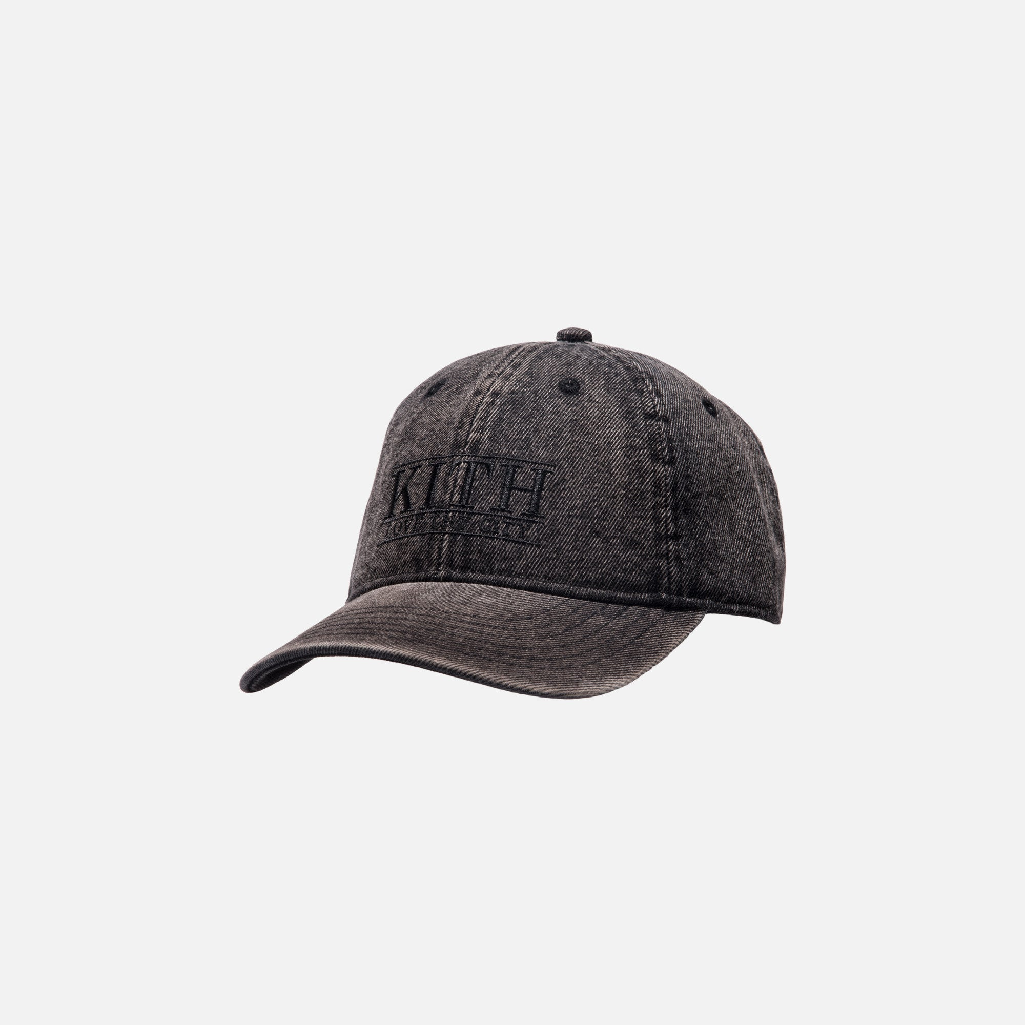 Kith Love Thy City Cap - Washed Black Denim