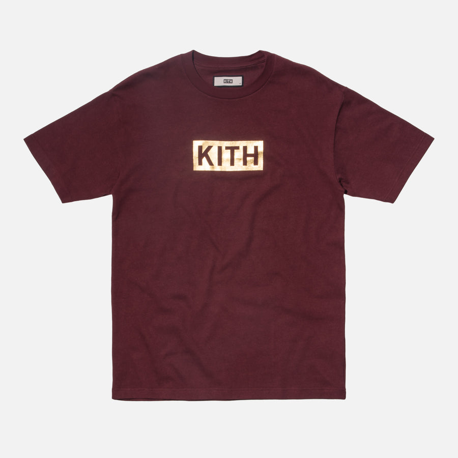 Kith World Fair Tee - Burgundy