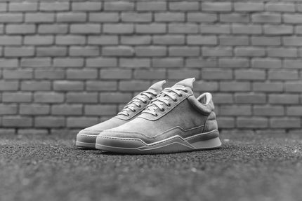 Filling Pieces Low Top Ghost - Grey