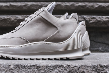 Filling Pieces Low Top Heel Cap - Light Grey