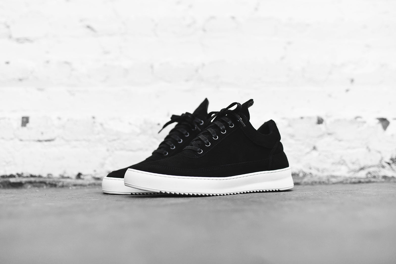 Filling Pieces Low Top Ripple Lane - Black
