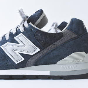 half off 4bb83 388de New Balance 996 - Navy / White - 8