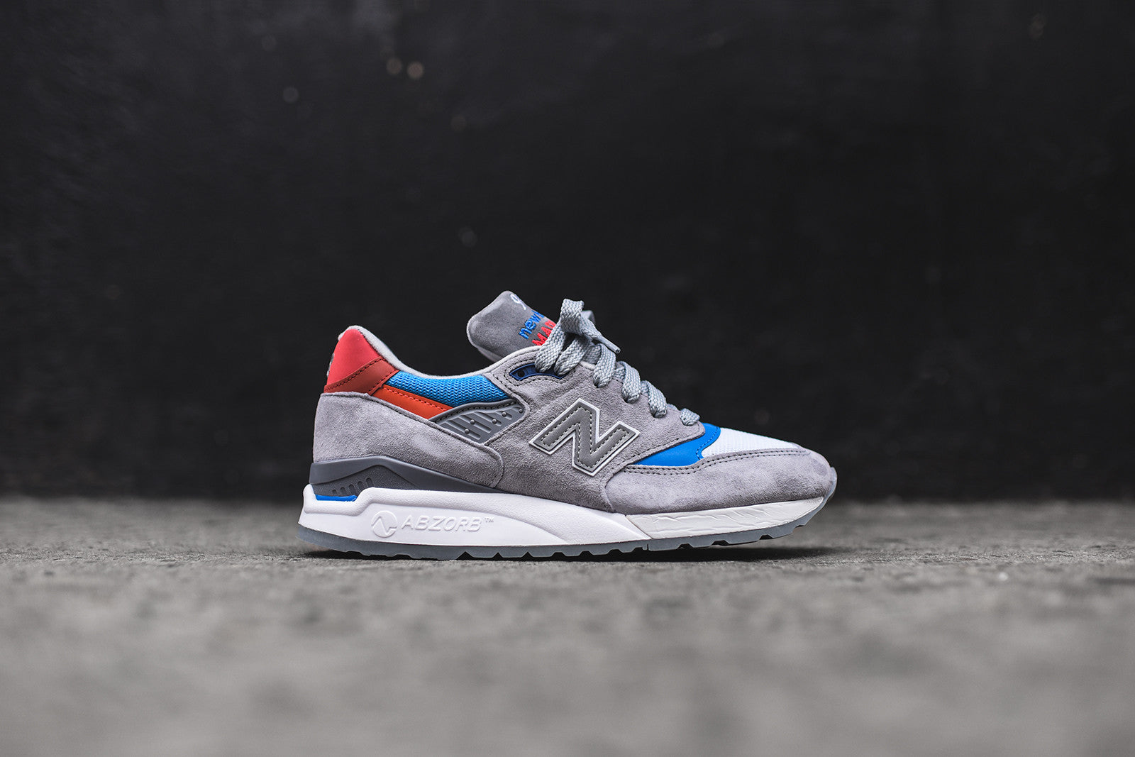 New Balance M998CNG - Grey / Blue / Red