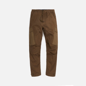 Maharishi Woven Cargo Trackpants Mil Spec Cellulose - Maha Olive