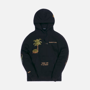 Maharishi Story Cloth Hooded Sweat Hemp Organic Sweat 480 - Black