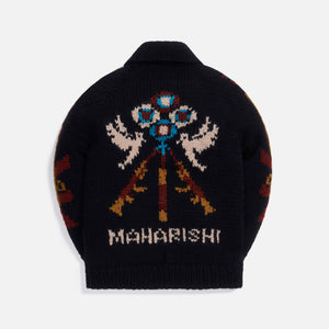 Maharishi Anti-war Cowichan 100% Virgin Wool - Black
