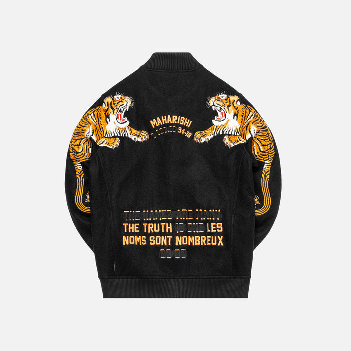 Maharishi Tiger Style Tour Jacket - Black