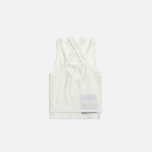 MISBHV Recordings Mesh Jersey Tank Top - Off White