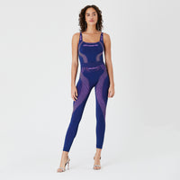 Kith Women x MISBHV Full Length Legging - Deep Violet Thumbnail 1