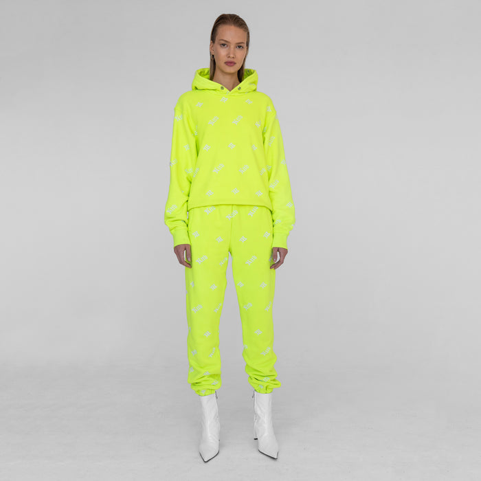Kith Women x MISBHV Monogram Embroidered Sweatpants - Neon