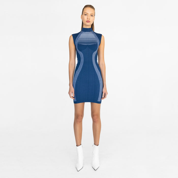Kith Women x MISBHV Active Dress - Navy / White