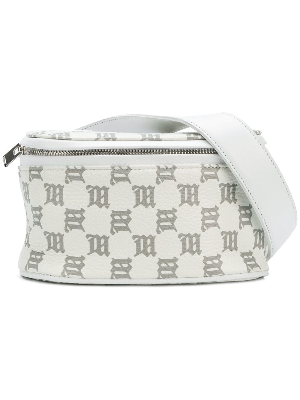 MISBHV Monogram Belt Bag - White