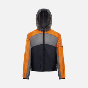 5 Moncler Craig Green Clonophis Giubbotto Jacket - Orange / Grey / Black