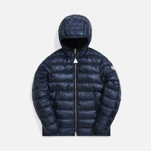 Moncler Emas Giubotto Jacket - Navy