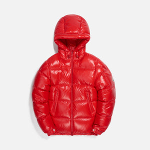 Moncler Ecrins Giubbotto Jacket - Red Image 1