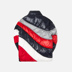 Moncler Argentiere Jacket - Navy / Red / White