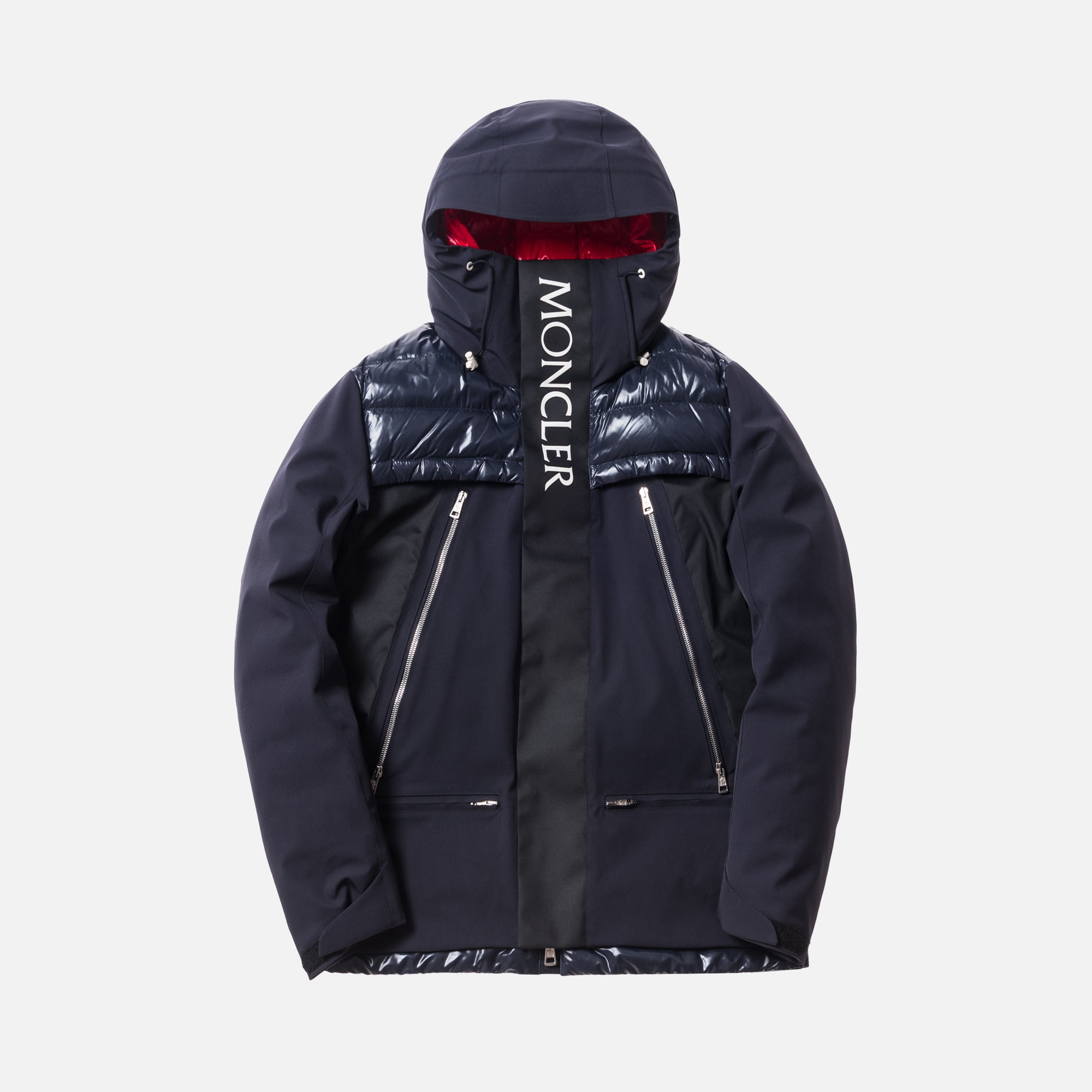 Kith x Moncler Parrachee Long Down Jacket - Navy
