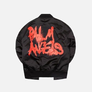 8 Moncler Palm Angels Axl Giubbotto Jacket - Black