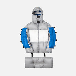 5 Moncler Craig Green Coolidge Giubbotto Jacket - Silver