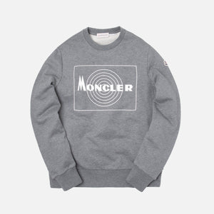 Moncler Maglia Girocollo Sweater - Charcoal Grey
