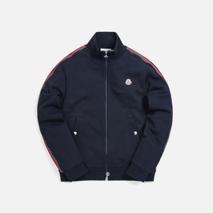 Moncler Maglia Zip Up Cardigan Track Jacket - Navy