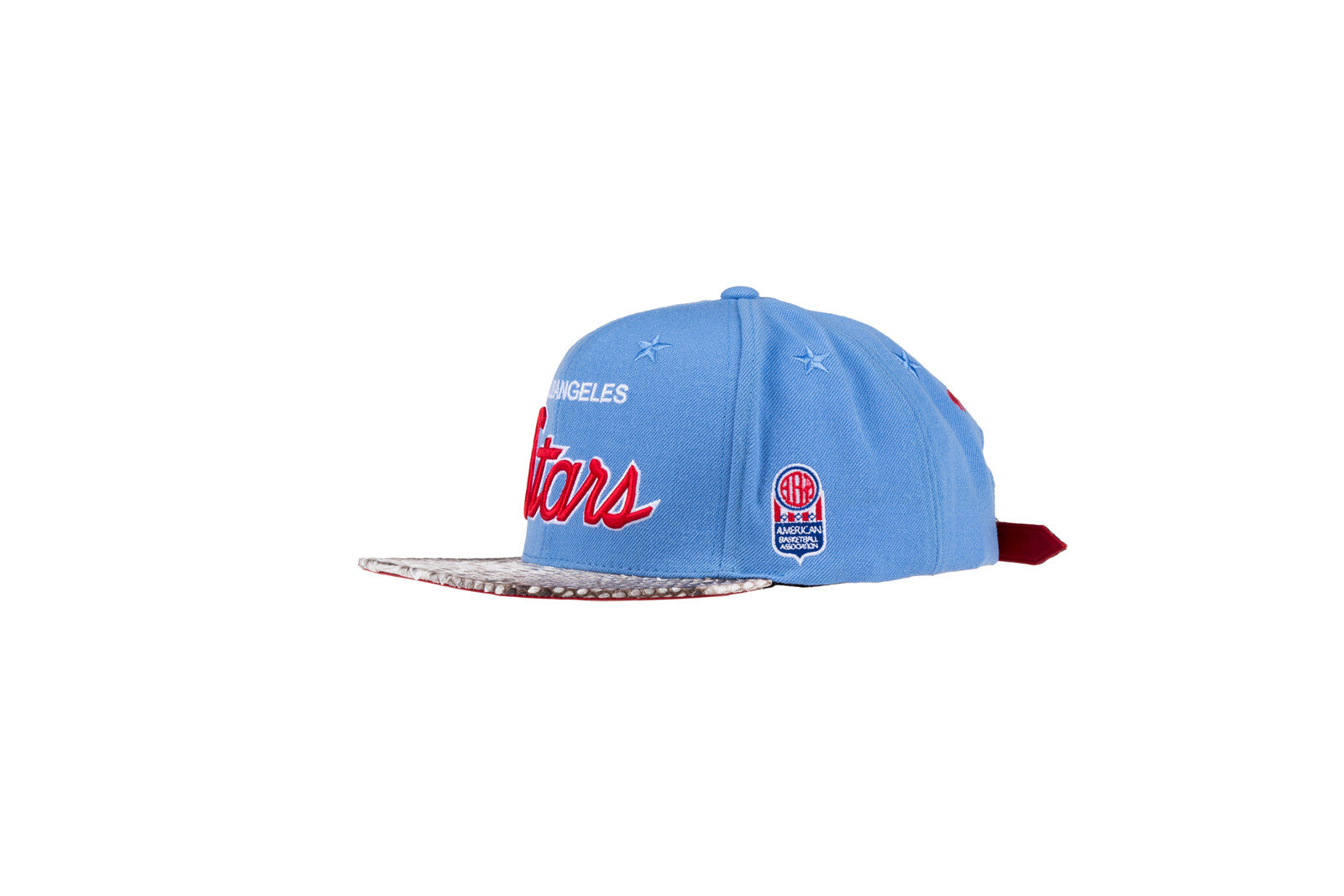 Just Don Los Angeles Stars Hat - Light Blue / Natural
