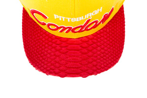 Just Don Pittsburgh Condors Hat - Yellow / Red