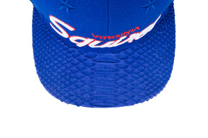 Just Don Virginia Squires Hat - Royal Blue / Royal Blue