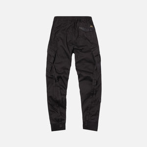 Maharishi MA65 Cargo Rib Trackpants - Black