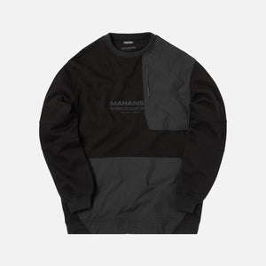 Maharishi Tech Crewneck - Black