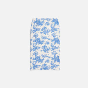 Miaou Exclusive Moni Skirt - Blue Toile