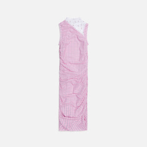 Miaou Sofia Dress - Pink Plaid